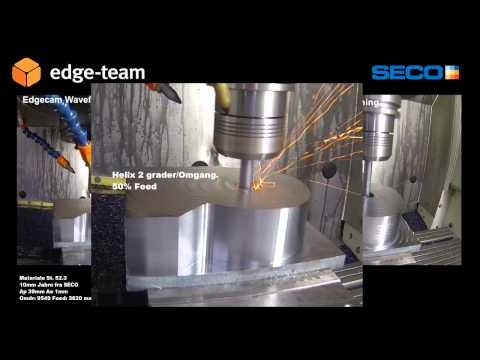 Traditional & Waveform machining with Seco Tools