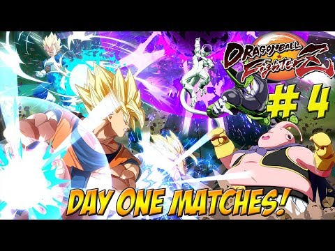 Dragonball FighterZ Beta: Day One Matches Part 4 - YoVideogames