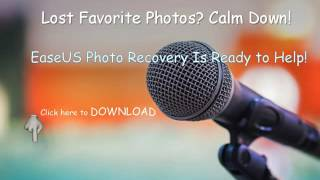 EaseUS Photo Recovery Software