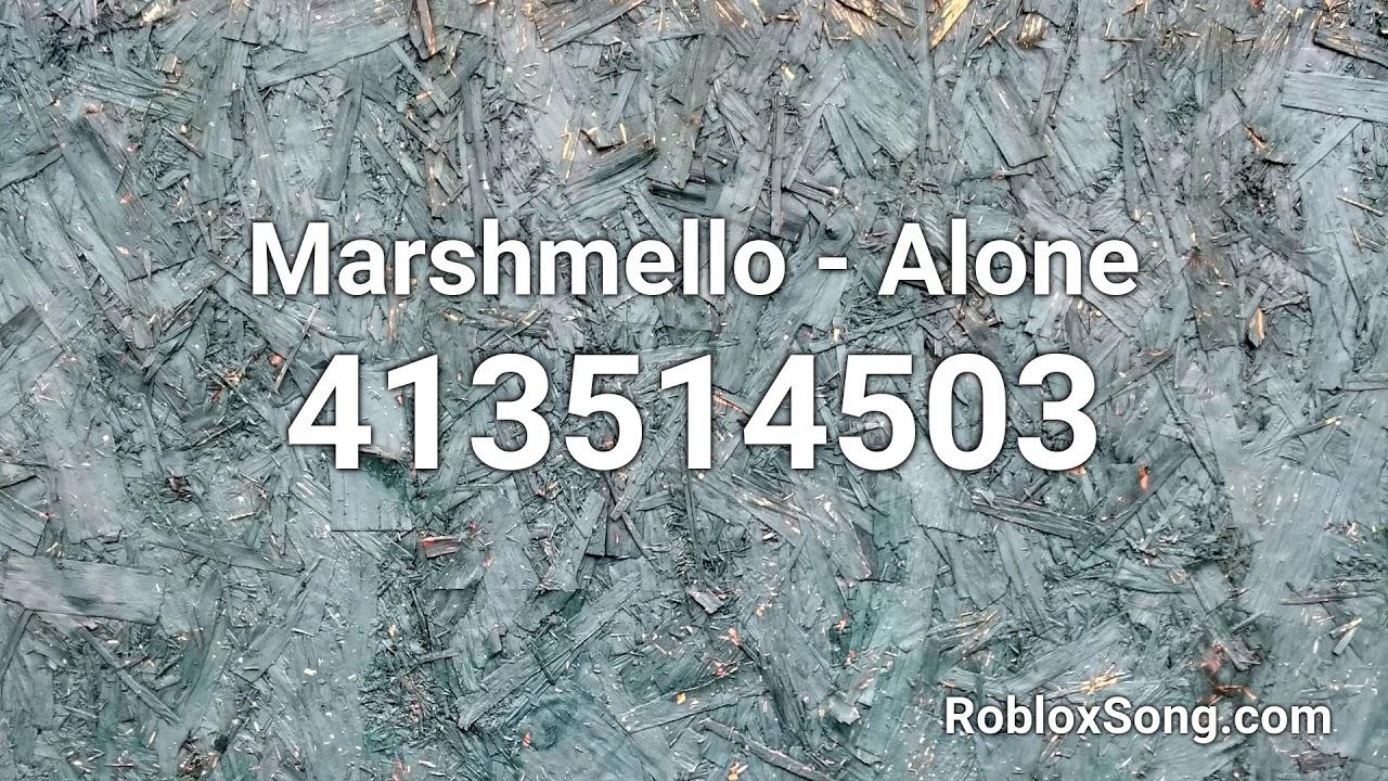 Alone Marshmello Roblox Id لم يسبق له مثيل الصور Tier3 Xyz