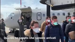 Il Ministro per gli Affari Regionali Francesco Boccia accoglie i medici albanesi a Verona