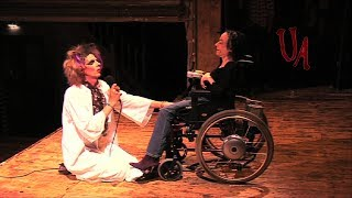 Unbelievable David Hoyle Cures Woman In A Wheelchair Live!