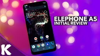 Elephone A5 Initial Review | Slick Looking Phone That Needs It