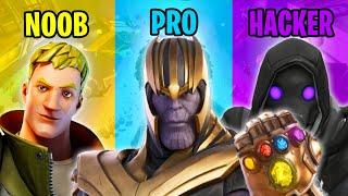 NOOB vs PRO vs HACKER - Fortnite Funny Moments #73
