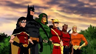 Young Justice season 1 Opening scene  Episode 1