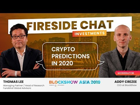 Thomas Lee: Crypto Predictions in 2020.