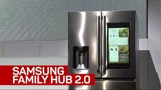 Samsung's Family Hub smart fridge gets new features