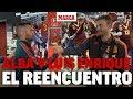 Así fue el reencuentro entre Luis Enrique y Jordi Alba