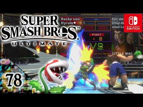Super Smash Bros Ultimate Let's Play ★ 78 ★ Little Mac ganz groß ★ Deutsch thumbnail