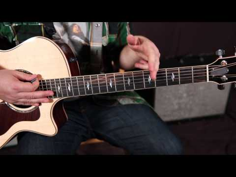 Jason Aldean - Two Night Town - How To Play On Guitar - Country Guitar Lessons