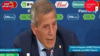 Diario EL AVISADOR - Entrevista a Tabarez Uruguay 1 - 0 Arabia Saudita
