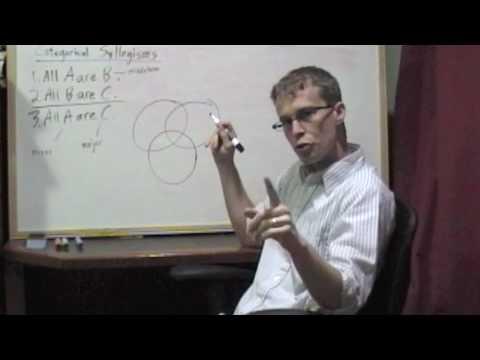 Categorical Logic Venn Diagramming Syllogisms Part One Youtube