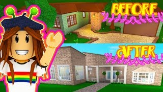 Renovating a Pre-Built Home in Bloxburg - Roblox (Classic Family Home)