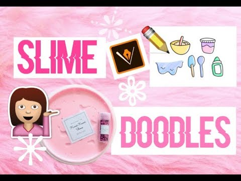 Test Draws On Doodles To Spot Signs Of >> Simple Slime Doodles Tutorial Cozysiqns Youtube