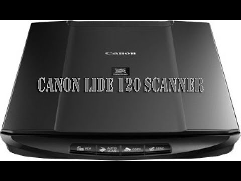 Canon LiDE 120 Scanner-UnBox