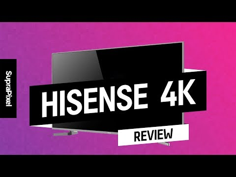 "Review TV 4K HDR ULED 50"" Hisense"