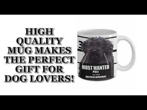 Most Wanted Puli – 11oz White Ceramic Coffee Mug
