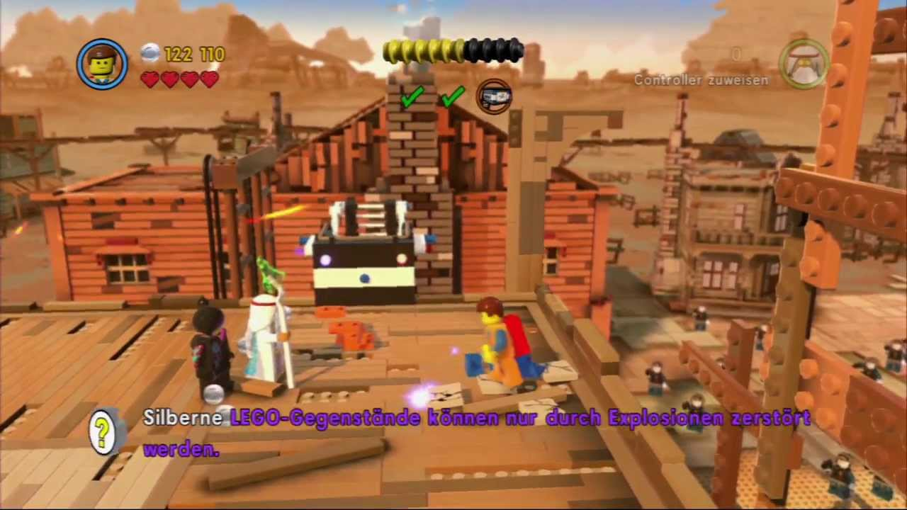 angespielt the lego movie videogame demo ps3