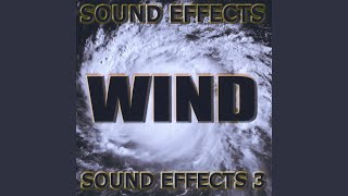 Heavy wind blowing sound effects distant rumble