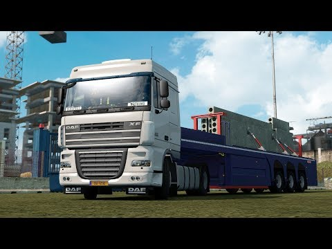 ETS2 1.28 ProMods 2.20 DAF XF105 Luxembourg - Bern