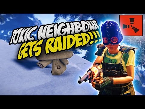RAIDING THE TOXIC NEIGHBOUR! - Rust Co-op Survival Gameplay
