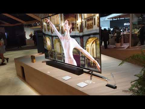 Sony X900F 4K HDR TV Series - 4K X1 Extreme Video Processor, CES 2018 [4K Video]