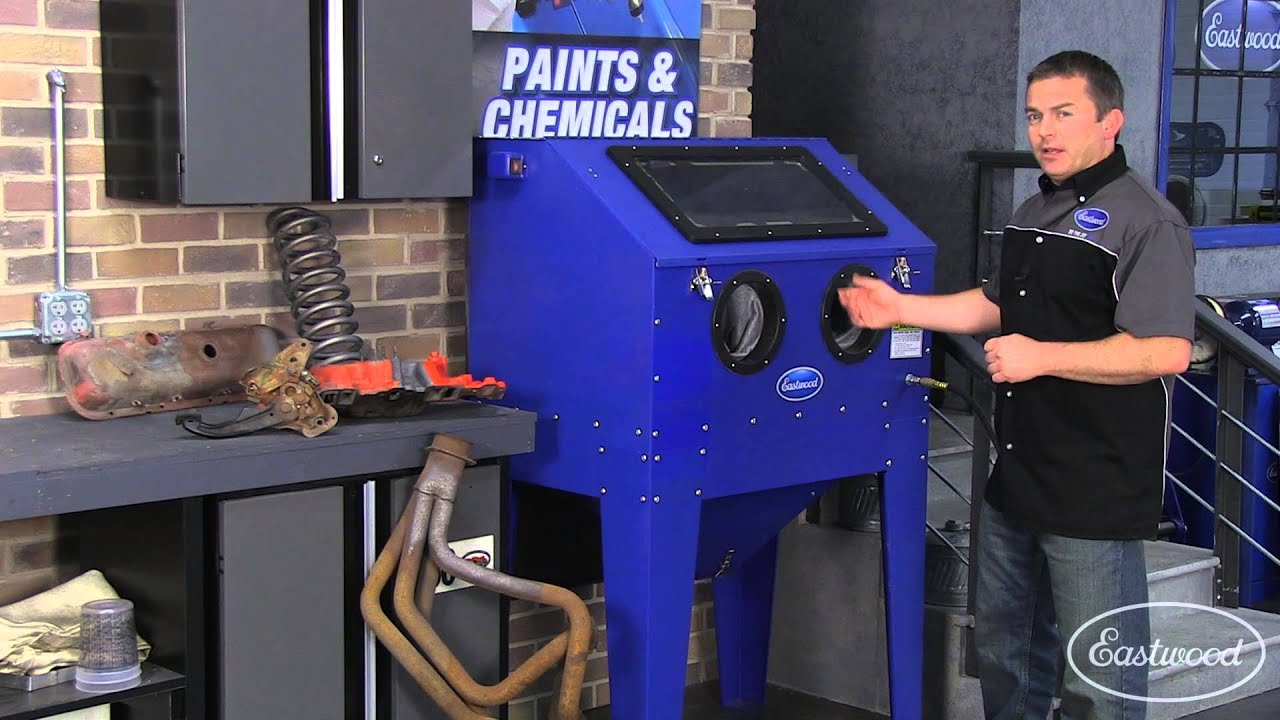 Blast Cabinet - Abrasive Blasting Tips from Eastwood - Plus a Great Price