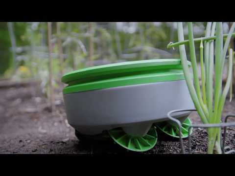 Tertill robot is like a Roomba for your garden