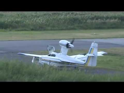 Lake LA-4-200 Taxiing and Takeoff CSU3