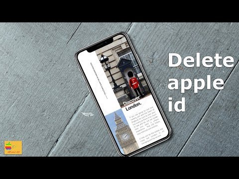 How to delete an apple id account forever