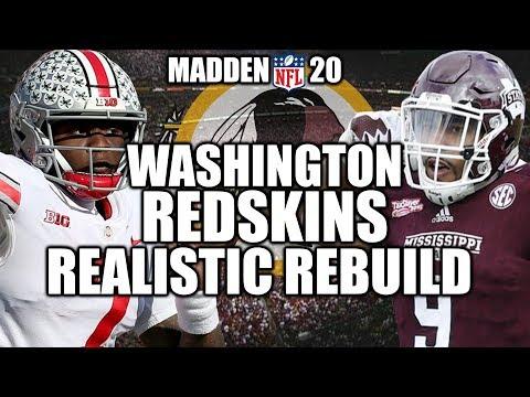 rebuilding-the-washington-redskins---madden-20-connected-franchise-realistic-rebuild