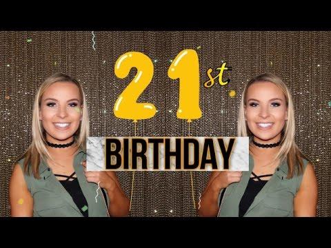 WHAT I GOT FOR MY 21ST BIRTHDAY! || Birthday Presents