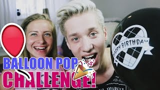 BALLOON POP CHALLENGE! | naaG & Soikku