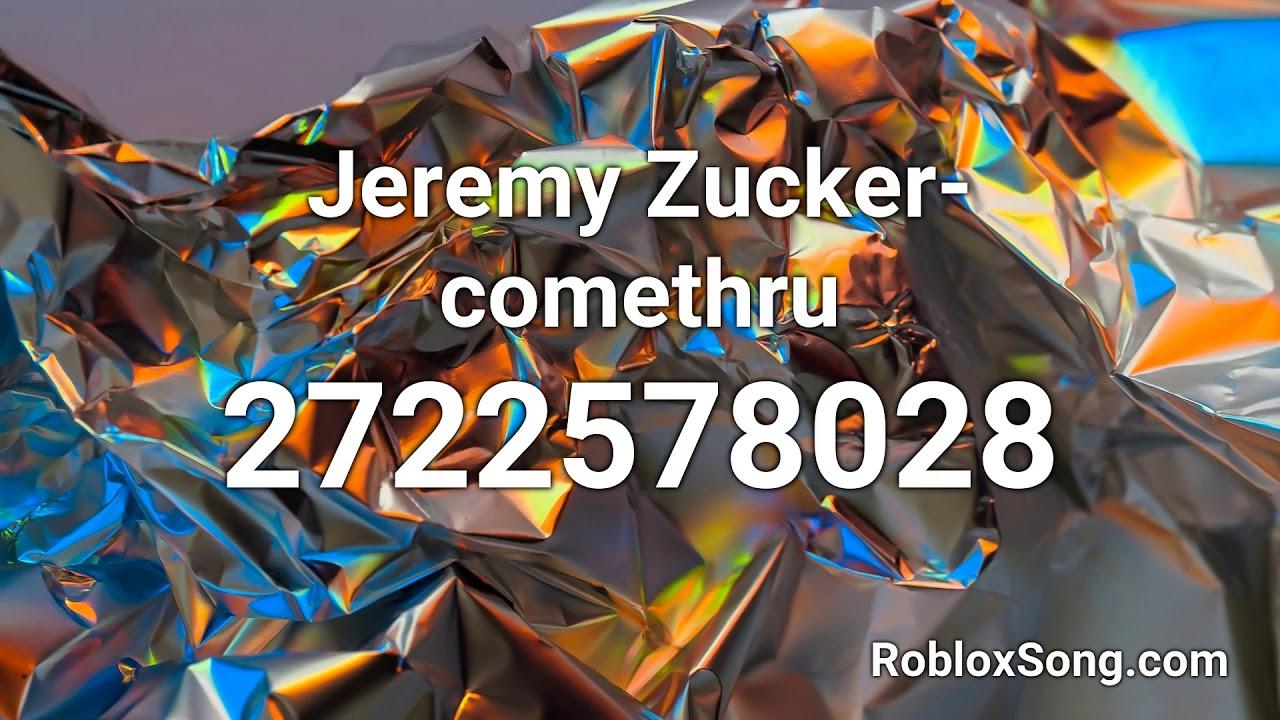 Jeremy Zucker Comethru Roblox Id Roblox Music Code Youtube