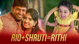 Rio Sruthi Raj   Rithi Rio   Vijay Tv