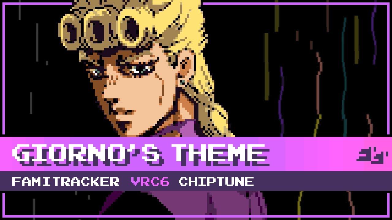 """Download Giorno's Theme ~ """"il vento d'oro"""" [8-Bit; VRC6] - JoJo's Bizarre Adventure: Golden Wind"""