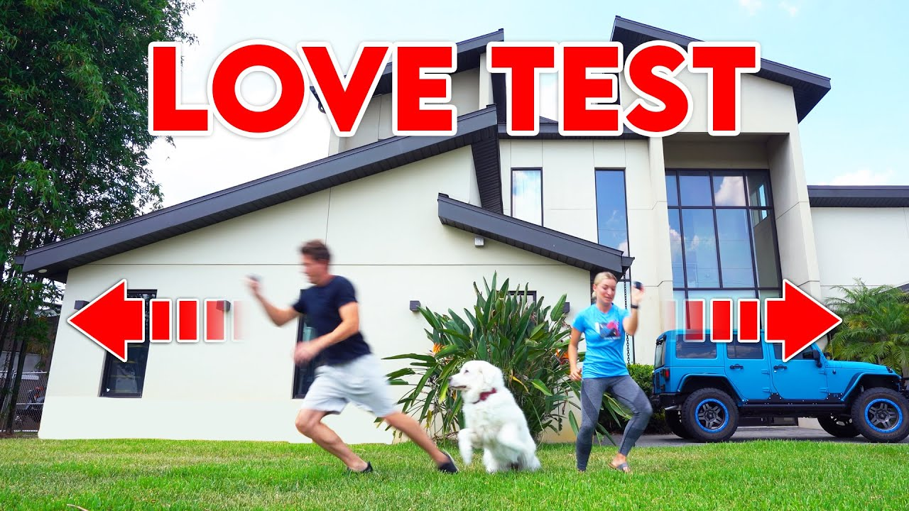 THE DOG LOVE TEST (Who Do They Love More?)