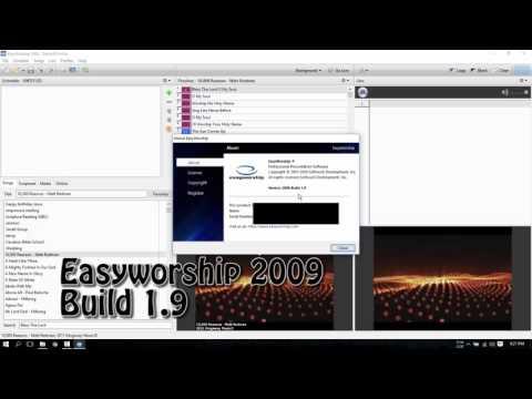 Easyworship 2009 Fix For Windows 10 Nov. 2015 Update