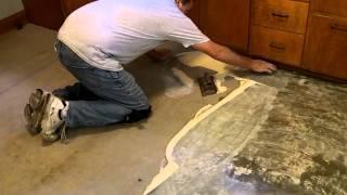 Tip: How To Spread Glue On A Floor
