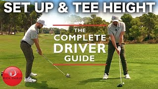 SET UP amp TEE HEIGHT FOR DRIVER THE COMPLETE DRIVER GUIDE