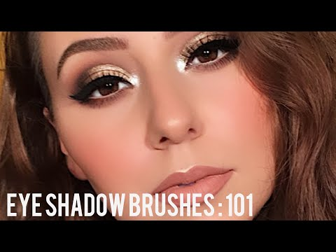 HOW TO BLEND EYESHADOW + BRUSHES 101