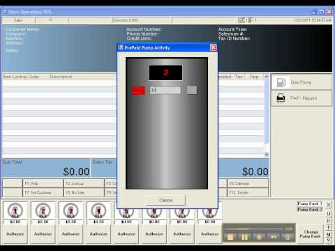 Gas Pump Integration for Microsoft Dynamics Retail Management System