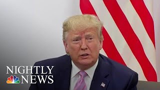 President Trump To Vladimir Putin: 'Don't Meddle In The Election' | NBC Nightly News