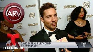 David Bisbal fue víctima de extorsión en España | Al Rojo Vivo | Telemundo