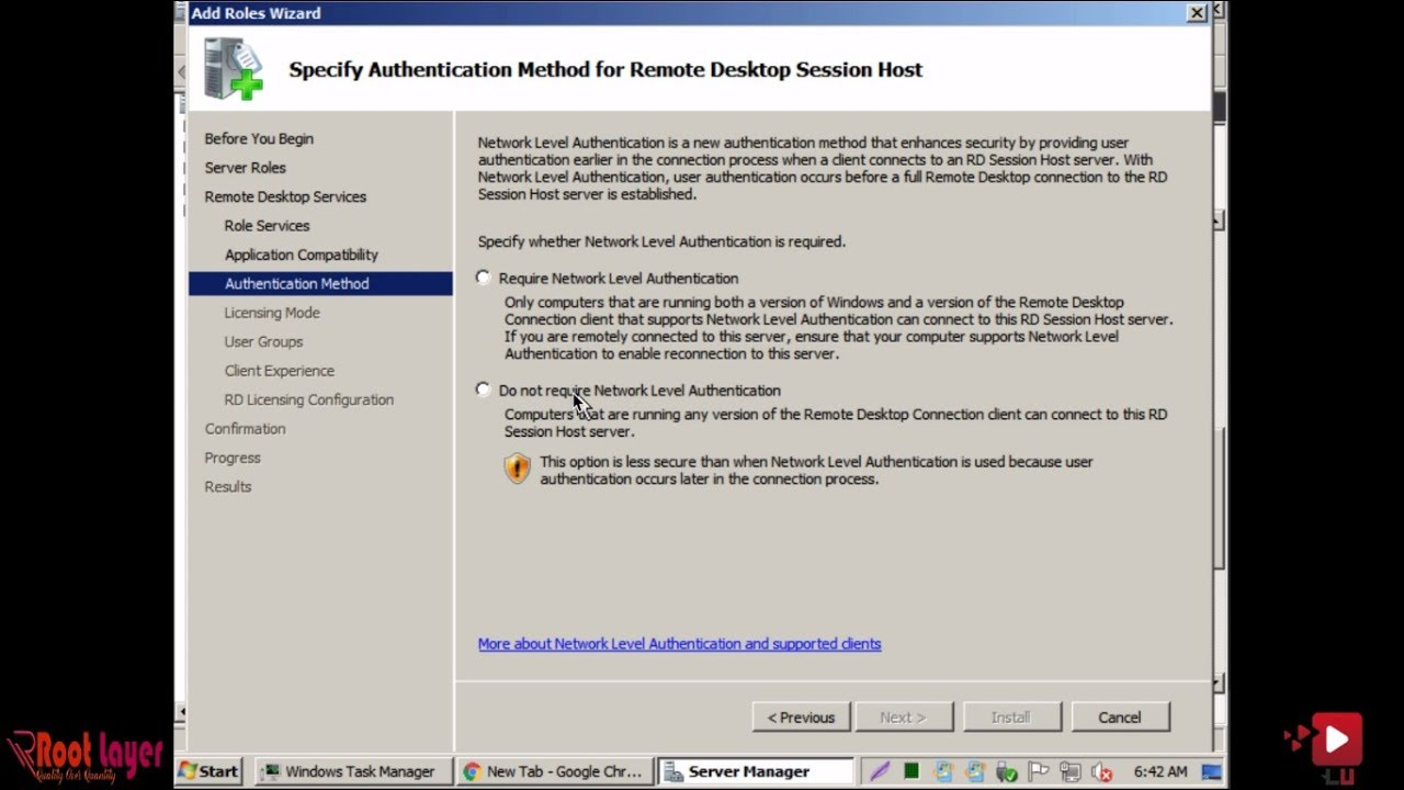 How to Install Client Access License (CAL) on Windows Server 2008 R2