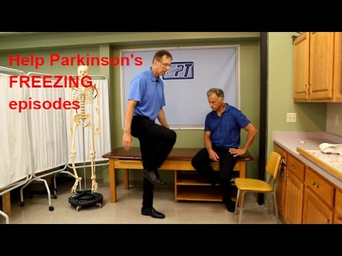 How to Help Parkinson's Freezing Episodes: 3 Great Tips.