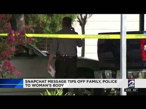 Snapchat message tips off family and police to body