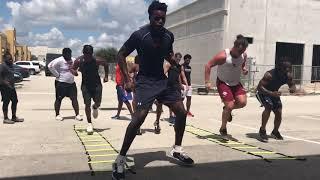Kenny McIntosh workout 1