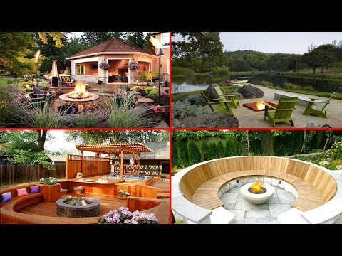 Impressive Cool Fire Pit Ideas | Magical Outdoor Fire Pit Seating Ideas & Area Designs