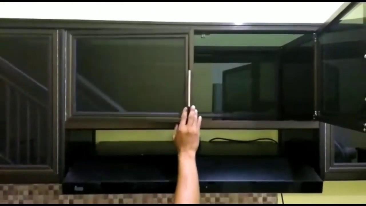 Opsi Kitchen Set Aluminium Murah Type Biasa Produk Budi Luhur Aluminium Youtube
